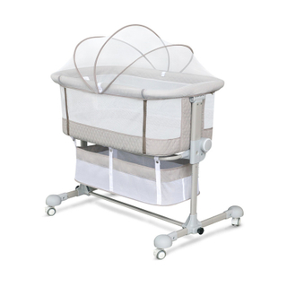 Luxury Baby Folding Crib For Bed With Storage