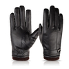 Hand Protection Warm Leather Waterproof Gloves For Outdoor Work