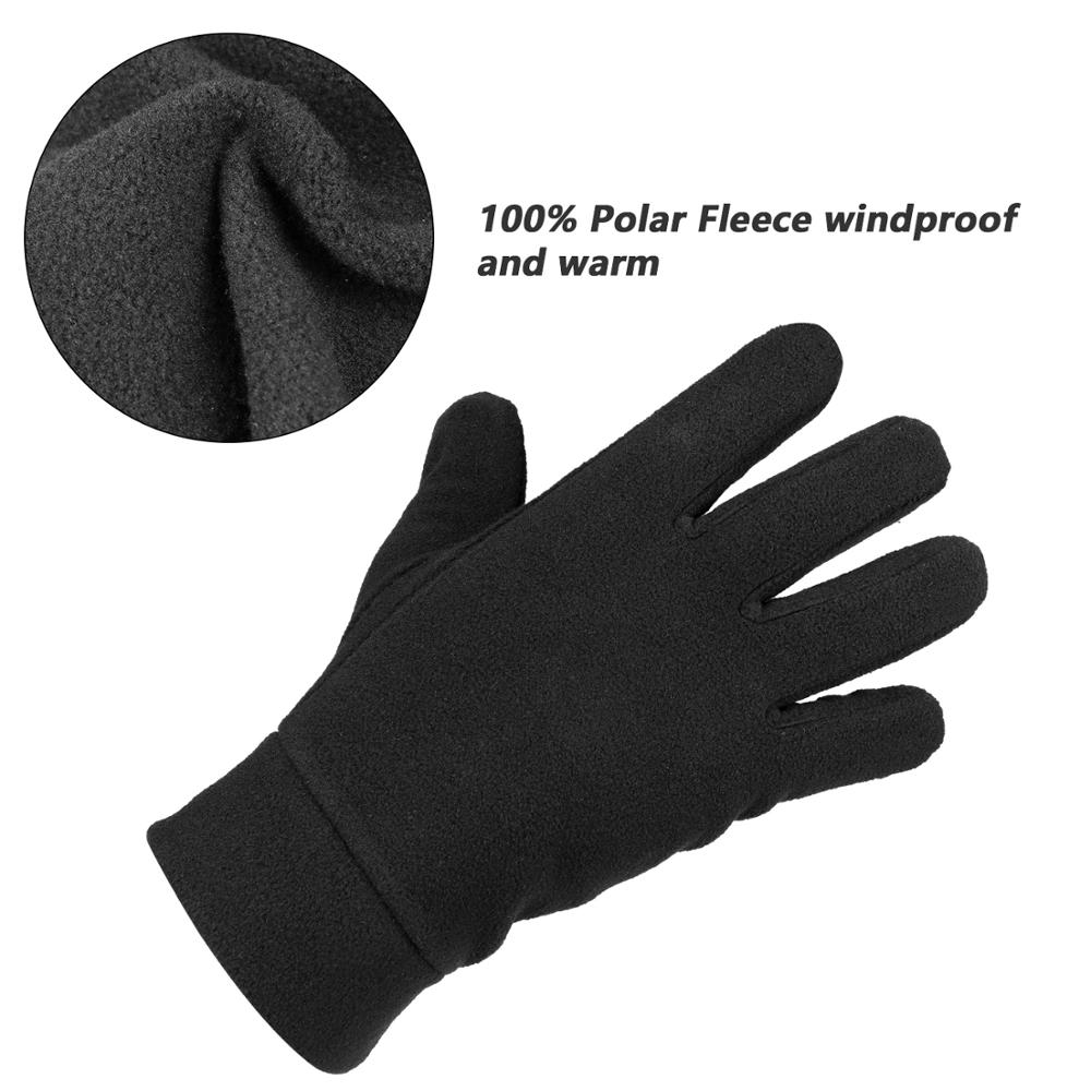 Flexible Warm Insulated Gloves For Women And Mens