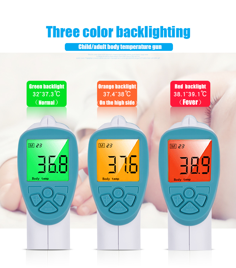 Non Contact Body Electronic Infrared Contactless Thermometer