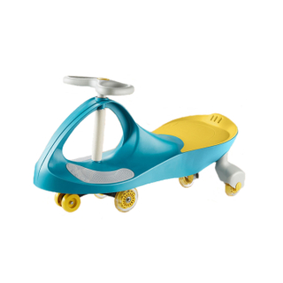 Kids Toy Wiggle Car Flashlight Baby Educational Swing Car