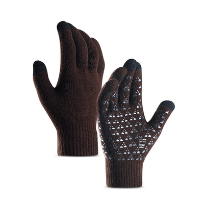Knitted Warm Glovrs With Touch Screen For Winter